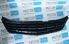 Решетка радиатора хром 4 лопасти на Лада Приора 2, SE Фото № 3
