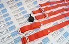 Ремни безопасности «TURBOTEMA» 5-ти точечные быстросъемные, красные, 2 дюйма Фото № 4