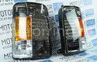 Тюнинг фонари черные на Лада Нива 4х4 Фото № 6