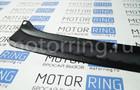 Накладка на задний бампер черное тиснение на Лада Гранта Лифтбэк Фото № 5