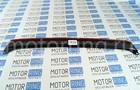 Накладка на задний бампер черное тиснение на Лада Гранта Лифтбэк Фото № 4