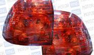 Штатные тюнингованные фонари для Лада Приора полностью красные