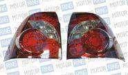 Светодиодные задние фонари ProSport Infiniti RS-05184 для Лада Приора, красный корпус