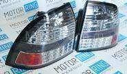 Светодиодные черные задние фонари (Китай) на Лада Приора
