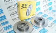 Тормозные диски asp 2108 (r13, невентилируемые)