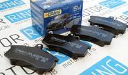 Тормозные колодки передние dafmi для переднеприводных ВАЗ
