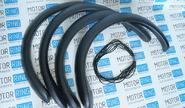 Накладки пластиковые с уплотнителем на арки колес Лада Нива 4х4