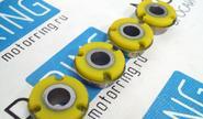 Сайлентблоки растяжки ss20 желтые на ВАЗ 2108-21099