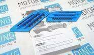 Декоративные накладки «Жабры» на кузов автомобиля, синие