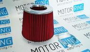 Воздушный фильтр нулевого сопротивления, инжекторный (красный, конус) для ВАЗ