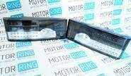 Задние диодные фонари серые с белой полосой для ВАЗ 2108-14