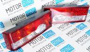 Задние фонари torino hy-200 красные с белой полосой на ВАЗ 2108-21099, 2113, 2114