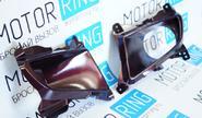 Рамки бампера противотуманных фар (ПТФ) для Лада Приора 2, в цвет автомобиля