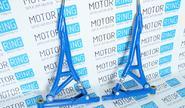 Рычаги треугольные razgon усиленные синие, ПУ на ВАЗ 2108-2115, ВАЗ 2110-2112, Лада Приора
