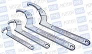 Ключ серповидный со штифтом 50-119мм «licota» awt-hk023