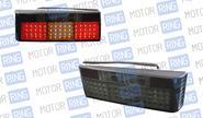Задние фонари prosport rs-08969 new для ВАЗ 2108-14 диодные тонированные, черные