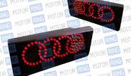 Задние фонари prosport rs-09070 «audi» для ВАЗ 2108-14 диодные тонированные, черные