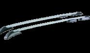 Рейлинги для land rover freelander 2, серый анод