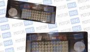 Задние фонари prosport rs-02022 для ВАЗ 2108-14 диодные тонированные, черный корпус
