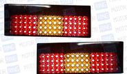 Задние диодные фонари тонированные на ВАЗ 2108-21099, 2113, 2114