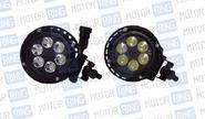 Комплект диодных балок круглых pl-1205 18w (6*3Вт)