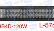 Диодная балка xrb4d-120 120w (40*3Вт)