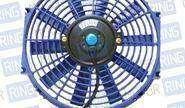 Вентилятор электрический 12 дюймов, синий