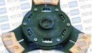 Диск сцепления clutch net 3-х лепестковый с демпфером для ВАЗ 2108-099, 2110-12