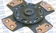 Диск сцепления clutch net 4-х лепестковый с демпфером для ВАЗ 2108-099, 2110-12