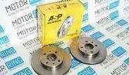 Тормозные диски asp 2112 (r14, вентилируемые)