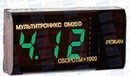 Тахометр-вольметр multitronics dm20d для дизельных двигателей