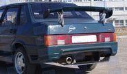 Задний бампер «Спорт» на ВАЗ 21099