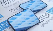 Комплект зеркальных элементов (стекол) без обогрева, с голубым антибликом на ВАЗ 2108-21099, 2113-2115
