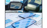 Комплект зеркальных элементов (стекол) старого образца с голубым антибликом и обогревом на Лада Приора