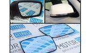 Комплект зеркальных элементов (стекол) нового образца с обогревом и голубым антибликом на Лада Приора 2