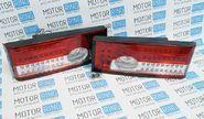 Задние диодные фонари красно-белые на ВАЗ 2108, 2113, 2109, 2114, 21099