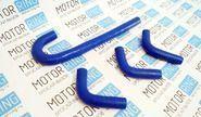 Патрубки печки силиконовые синие на ГАЗ 31105 дв. chrysler
