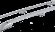 Рейлинги серебристые на крышу Лада Ларгус