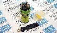 Отвертка цанговая с вставками 18 предметов 110 мм «Дело Техники» 708180