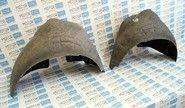 Задние подкрылки (локеры) из мягкого материала на Лада Калина, Гранта, Датсун