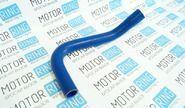 Патрубок сапуна силиконовый синий на ВАЗ 2108-21099, 2113-2115