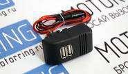 usb зарядное на 2 слота на комбинацию приборов ВАЗ 2110-2112