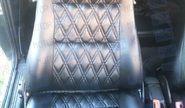Обивка сидений (не чехлы) экокожа Ромб на Шевроле Нива