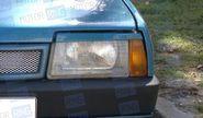 Реснички прямые на фары ВАЗ 2108-21099