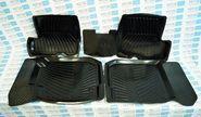 Комплект ковриков салонных резиновых rВs-0022-0023r на renault sandero