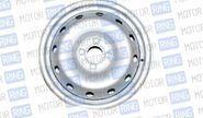 Штампованный диск колеса6j r15 серебристое покрытие на Лада Ларгус