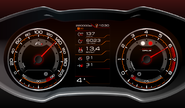 Комбинация приборов gamma gf 940 premium edition на Лада Веста