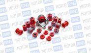 Комплект сайлентблоков и втулок красный полиуретан cs20 drive на ВАЗ 2108-21099