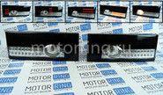Задние диодные фонари черные с белой полосой на ВАЗ 2108-21099, 2113, 2114