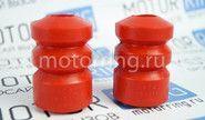 Отбойники заднего амортизатора красный полиуретан cs20 drive на ВАЗ 2110-2112, Лада Приора